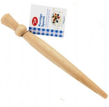 Wooden Traditional Porridge Spurtle Stirrer Beechwood Spoon